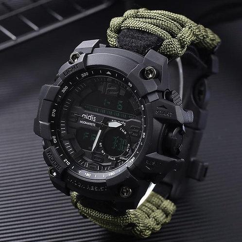 Addies G Shock Men's Military Watch With Compass 3Bar Waterproof Watches Digital