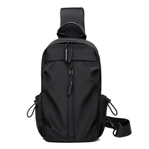 Brand Large Capacity Male Chest Bag High Quality Nylon Men School Bags Modern Sh