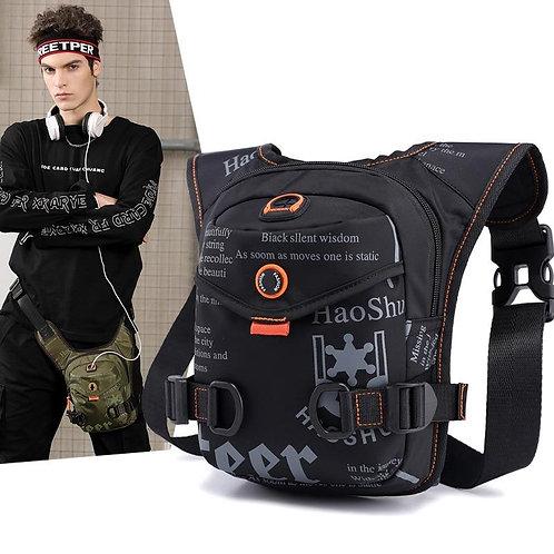 Men Waterproof Thigh Bag Waist Pack Fanny Packs Outdoor Riding Motorcycle Crossb