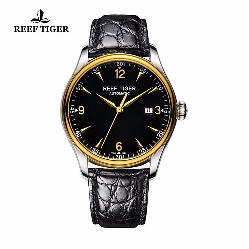 2020 New Reef Tiger/RT Watches Business Watches Mens Luxury Brand Automatic Date