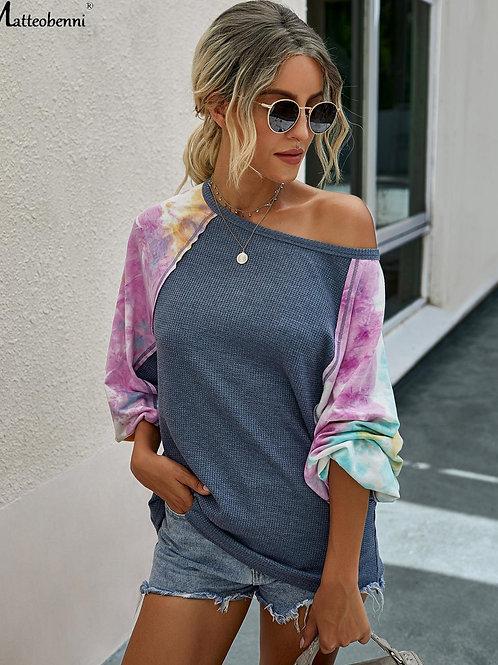 2020 Autumn Women Sweatshirt Multi color Casual Long Sleeve Sweatshirt Lady Loos