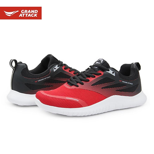 Breathable Men's Lightweight Comfortable  Lace up Trainers Walking Jogging Runni