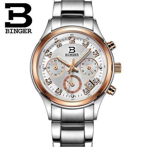 Dress Watches For Women Fashion Wrist Rhinestone Men And Women Couple Watch Bing