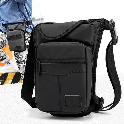 Men Waterproof Nylon Legs Bag Thigh Bags Fanny Pack Fashion Motorcycle Riding Wa