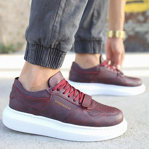 Chekich Sneakers For Men Sneakers Casual Comfortable Flexible Fashion Leather We