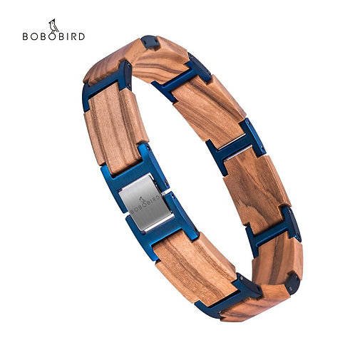 BOBO BIRD Wood Men Women Bracelet Bangle New Design pulseras mujer мужскоÐ
