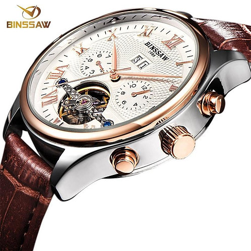 BINSSAW 2019 Watches Men Luxury Top Brand New Fashion Men's Big  Designer Automa