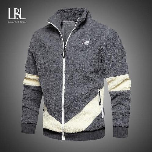 2020 New Men Hoodies Winter Thick Warm Fleece Zipper Men Hoodies Coat Sportwear