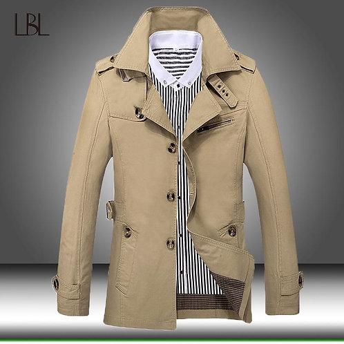 2020 Autumn/Winter Trench Coat Men Jackets Casual Outwear Windbreaker Jacket Mal