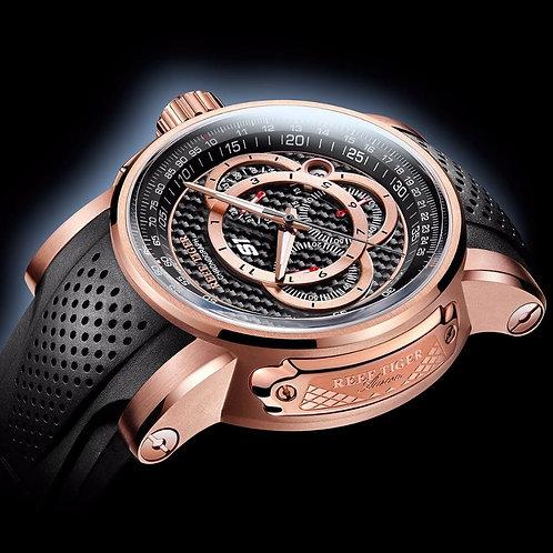 2019 Reef Tiger/RT Brand Sport Watches Reloj Mujer Men Quartz Chronograph Waterp