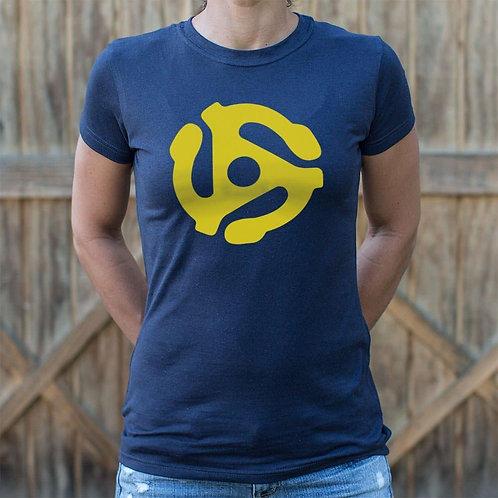 45 Stereo Adapter T-Shirt (Ladies)