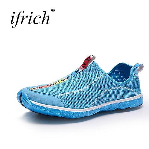 2019 Summer Sport Running Shoes Men Women Mesh Breathable Walking Jogging Sneake