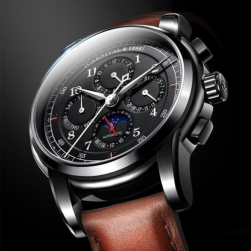 Automatic Watches For Men relogio masculino Carnival Watch Men Top Luxury Brand