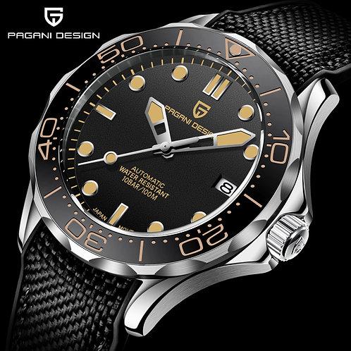 2020 New PAGANI DESIGN Men's Mechanical Watch Men Automatic Luxury Waterproof Sa