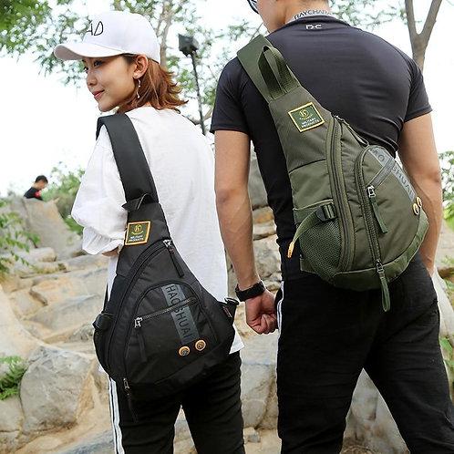 Large Capacity Chest Bag Unisex Big Fanny Pack Fashion Should Messenger Bags Wai