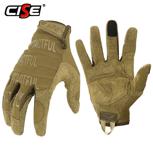 Touchscreen Motorcycle Camouflage Full Finger Gloves Protective Gear Racing