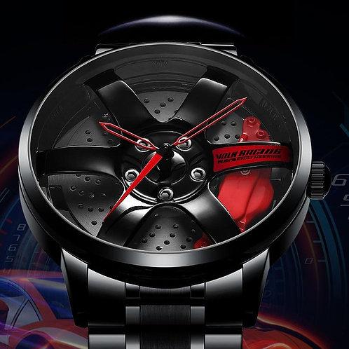 NIBOSI Relogio Masculino Wheel Rim Hub Watch Custom Design Sport Car Rim Watches