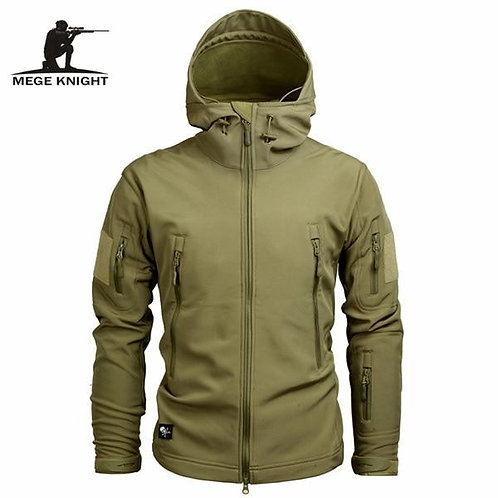 Mege Brand Clothing Autumn Men's Military Camouflage Fleece Jacket Army Tactical