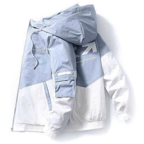 2020 spring and autumn clothes Men Jacket Size 3XL Outwear Hooded  Coat Slim Par
