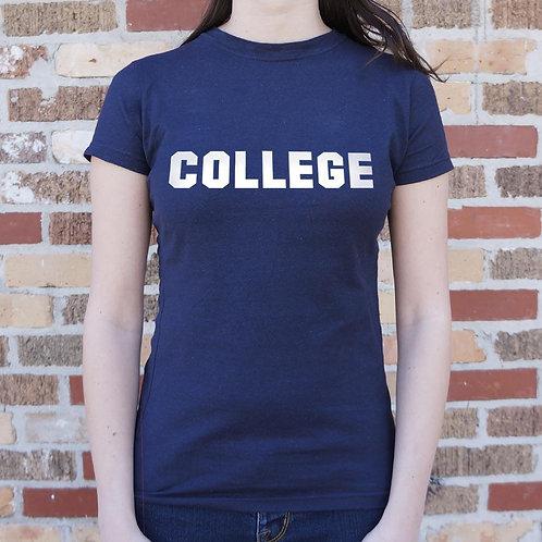 College T-Shirt (Ladies)