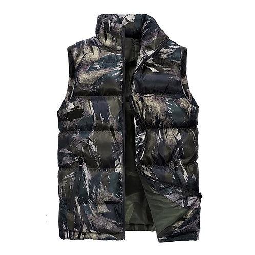 2020 Men Winter Waistcoat Camouflage Vest Mens Warm Sleeveless  Jacket Men Men's