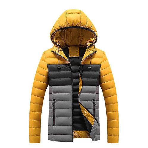 2020 Men Light Weight Winter Jacket Men Parkas Thicken Young Cotton-Padded Casua