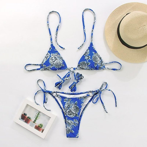 Miyouj Sexy Bandeau Bikini Bandage Swimwear Women Solid Swimwear, Bathing Suits