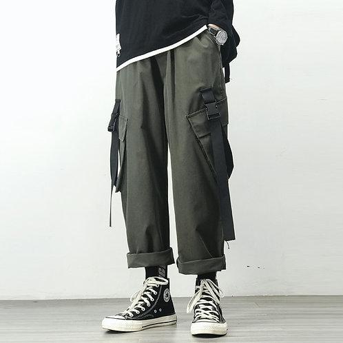 2021 Sweatpants Spring Autumn Hip Hop Pocket Harem Pants Casual Korean Oversize