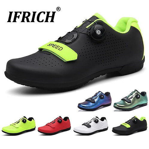 Professional Men Cycling Shoes Breathable Self-Locking Mtb Shoes Women Mountain