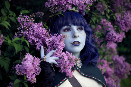 Jester and Lilacs