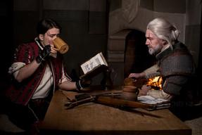 Geralt and Eskel