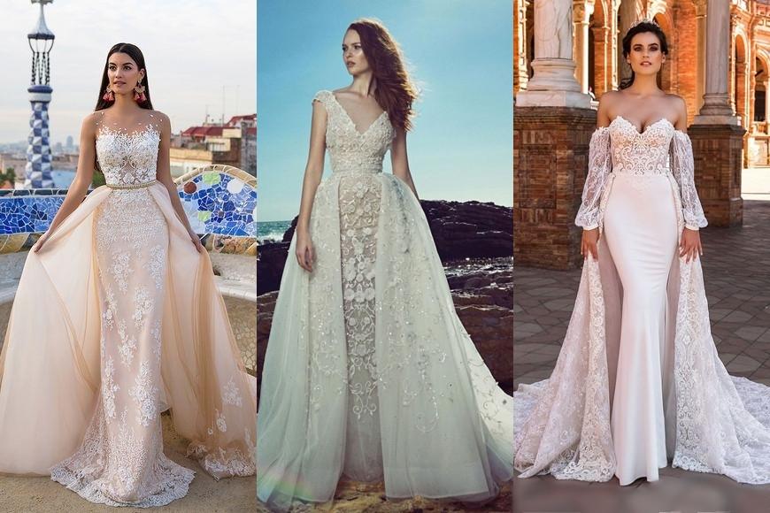 Šaty s odepínací sukní