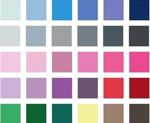 barevný typ letní