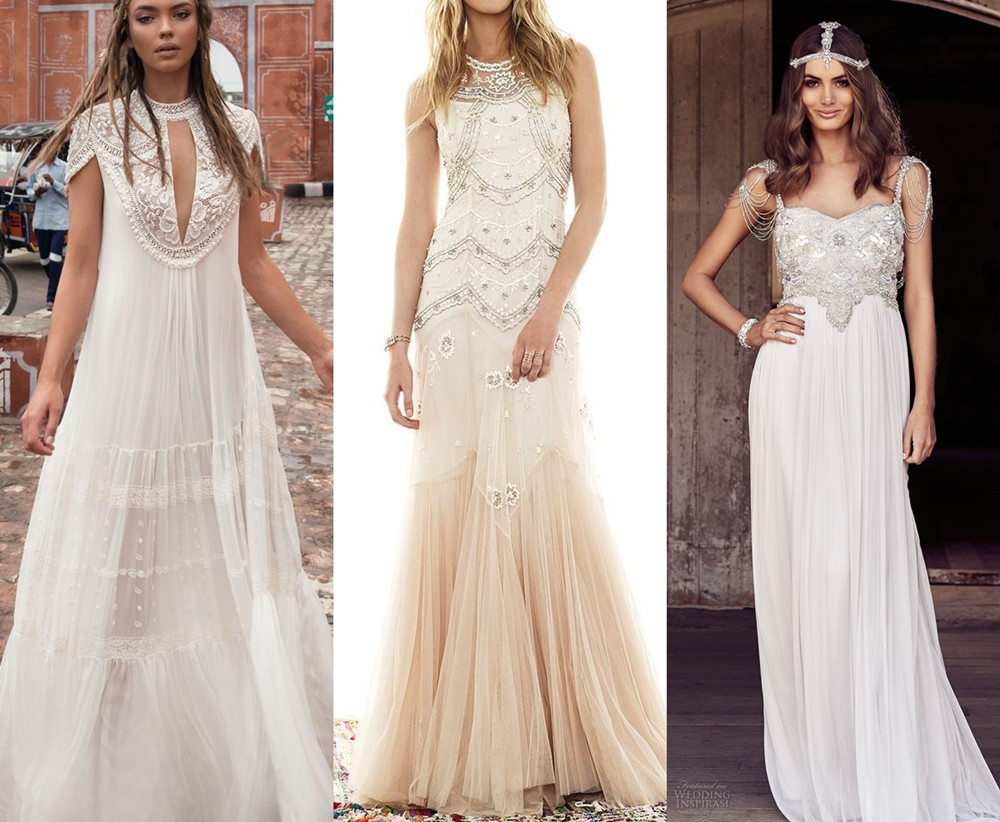 Orientální svatební šaty