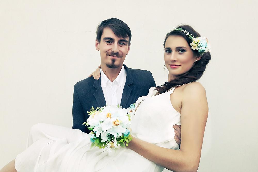 svatební doplňky - květina