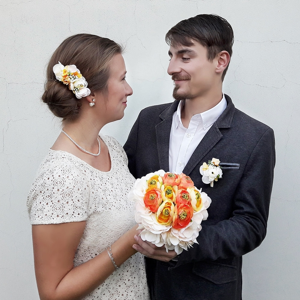 Svatební doplňky - hřebínek