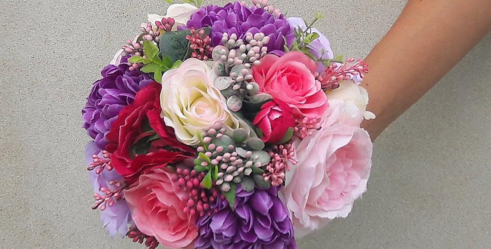 Svatební kytice Chrys