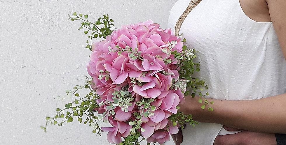 Svatební kytice - hortenzie
