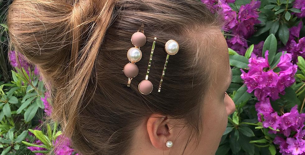 Perličky do vlasů - set 3 ks