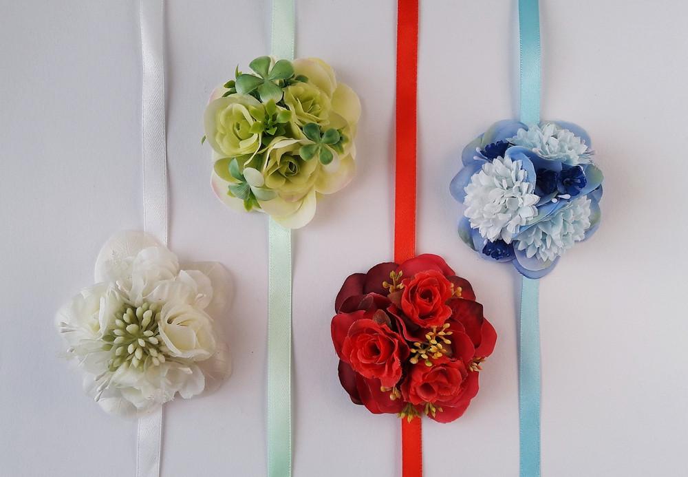 náramky z květin
