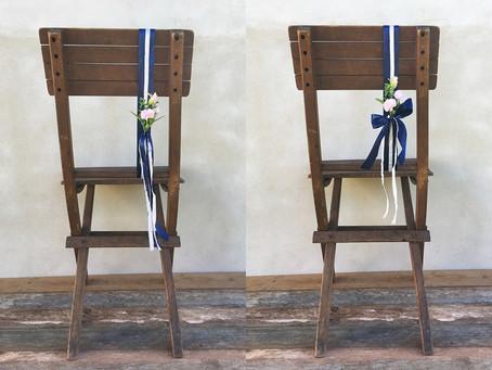 Výzdoba židlí