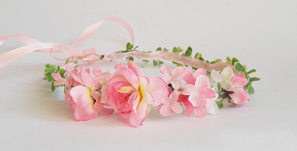 Svatební věneček - jabloňové kvítí