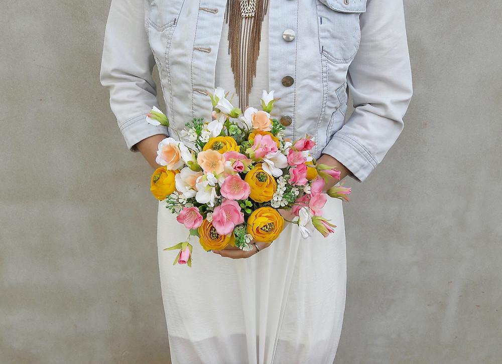 svatební kytice luční
