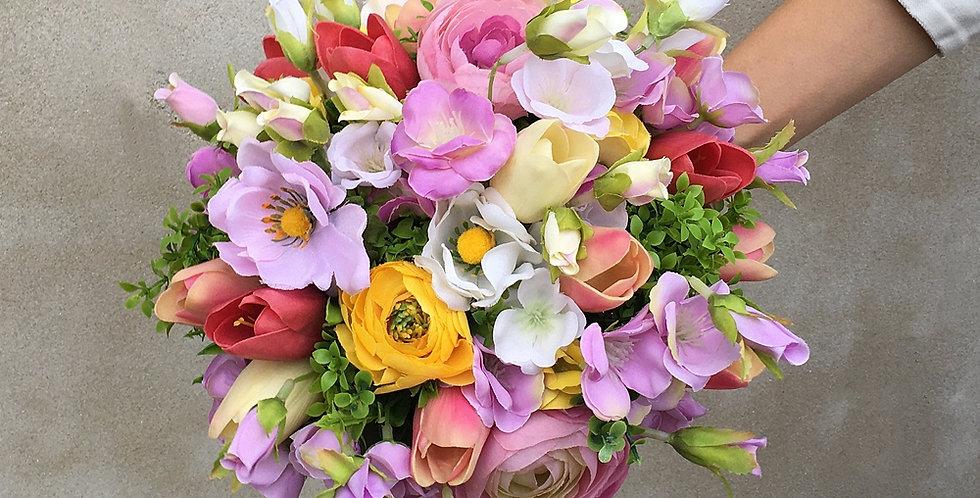 Svatební kytice - jarní