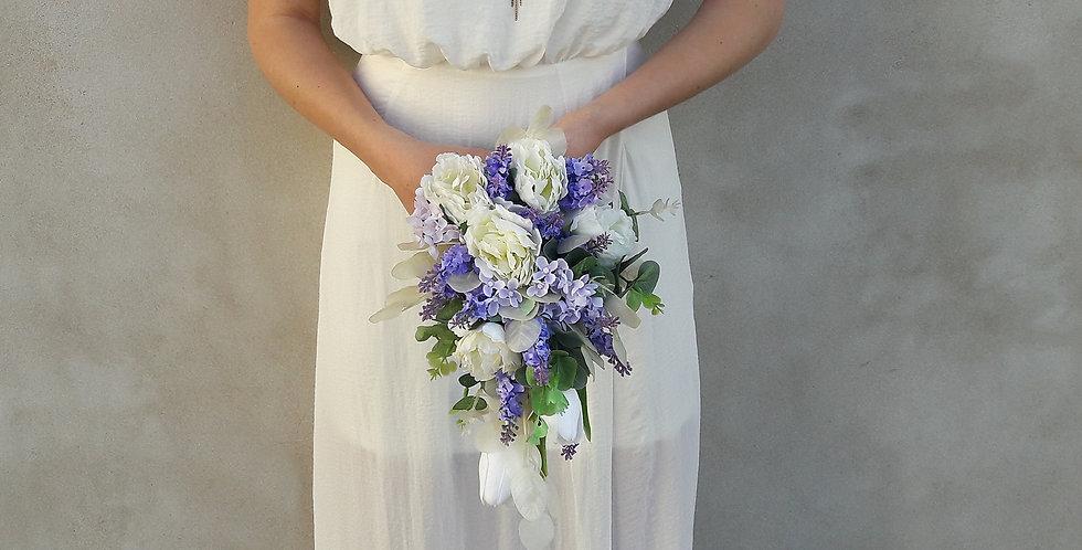 Svatební kytice - kapka