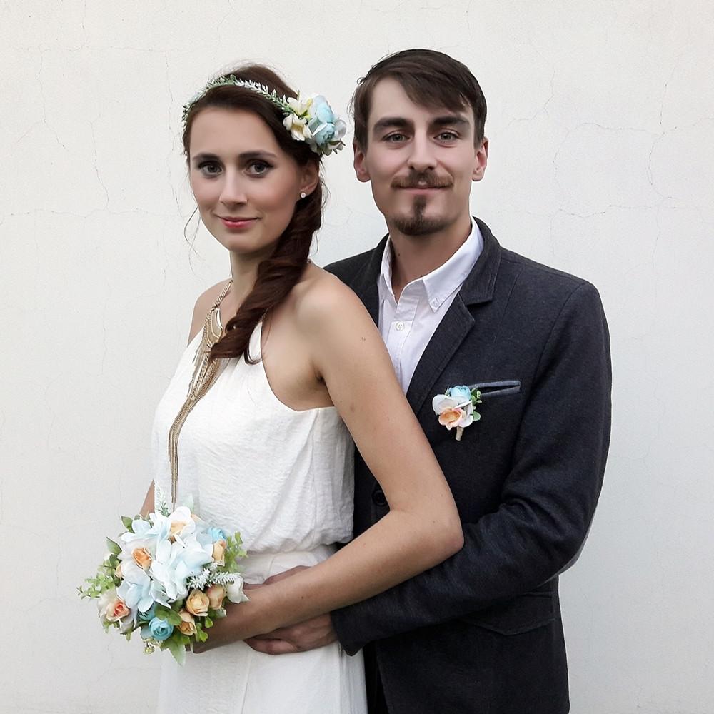Svatební doplňky - věneček
