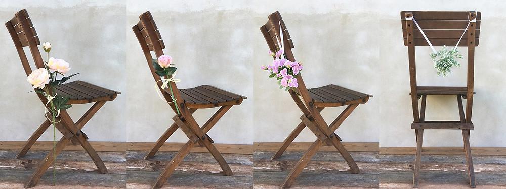 svatební květinová výzdoba