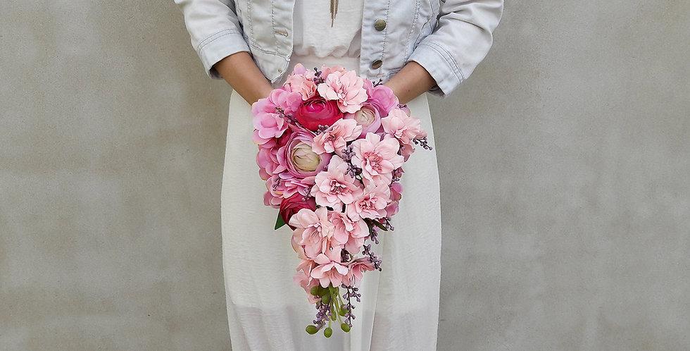 Svatební kytice anglická kapka