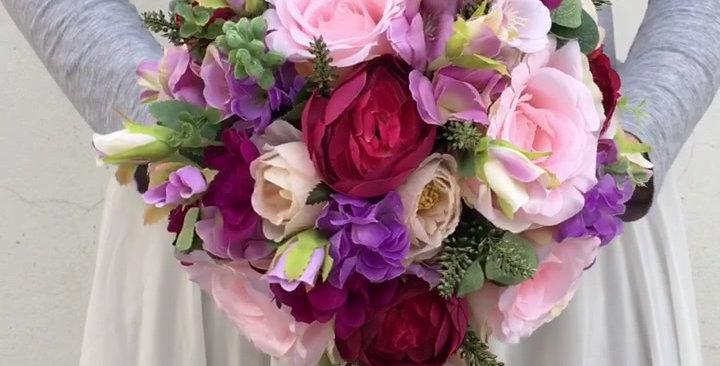 Svatební kytice letní