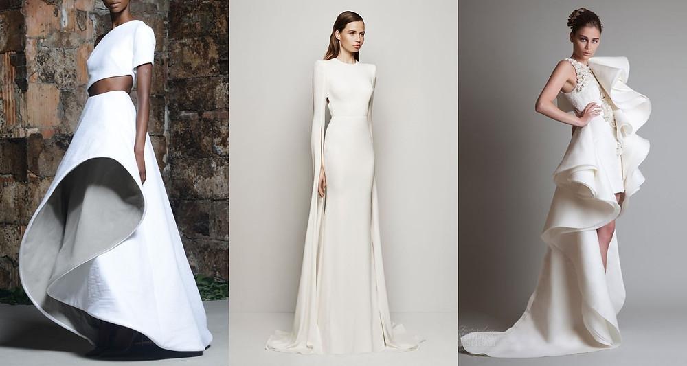 svatební šaty extravagantní